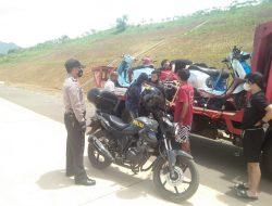 Polisi Bubarkan Aksi Balapan Liar di Ruas Jalan Tol Cisumdawu