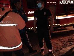 Diduga Tabung Gas Bocor, Rumah Milik Ketua RT Terbakar