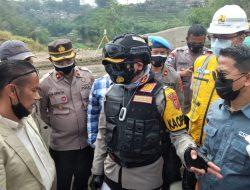 Personel Polres Sumedang Jaga 24 Jam Pengamanan Blok Kopeng Cibeusi
