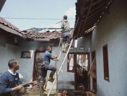 Diduga Ada Unsur Kesengajaan, Satu Rumah di Cimalaka Sumedang Terbakar